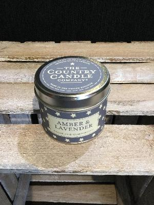 Amber and Lavender Candle