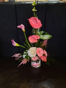 Tropical Flamingo Arrangment